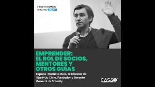 WebinarW: Emprender, el rol de socios, mentores y otros guías