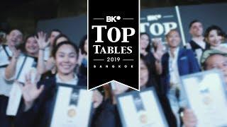 Top Tables 2019 Awards Night: Celebrating Bangkok's Best Restaurants