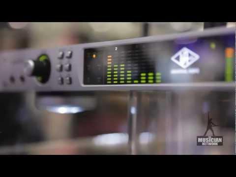 Universal Audio - Thunderbolt Audio Interface: NAMM 2012 Interview