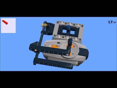 Building Instructions: LEGO Technic Joystick Remote Control