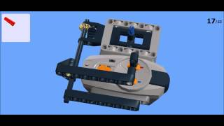 Building Instructions: LEGO Technic Joystick Remote Control