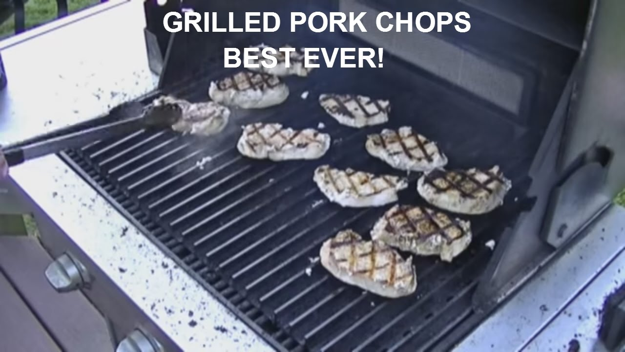 Grilled Pork Chops (poke Chops) How To Make The Best Ever!