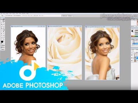 Tách tóc trên nền trắng nhanh chóng hiệu quả bằng Multiply trong Photoshop