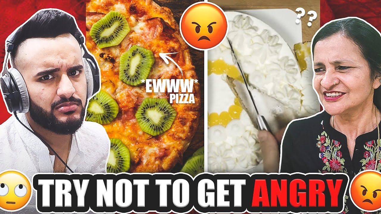 TRY not to get ANGRY challenge !! *Impossible*