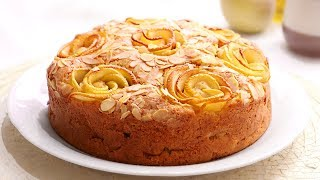 Apple Cake Easy, delicious and juicy
