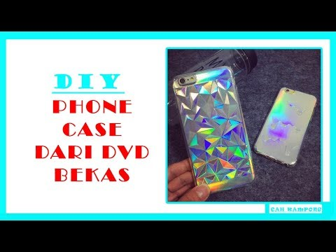 Cara Membuat Casing Hp dengan kaset DVD | how to make case from dvd tape