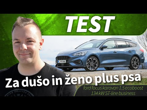 2019 ford focus karavan 1.5 ecoboost 134 kW ST-line business - test