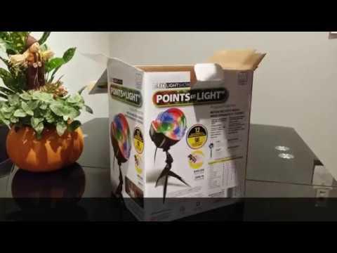 LED LIGHT SHOW, POINTS OF LIGHT