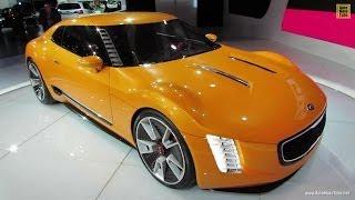 Kia GT4 Stinger Concept 2014 Videos