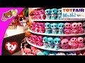 Download Mp3 TY Beanie Babies, Beanie Boos, Peek-a-Boos, and More Cute Plush Toys at New York Toy Fair 2016!