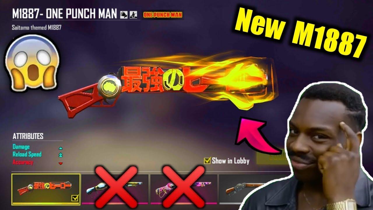 New M1887 - One Punch Man is New King😍🔥सस्ते में सबसे अच्छा Must watch !!