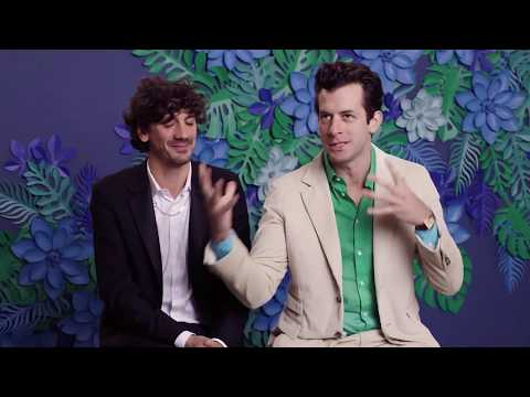 Anthony Rossomando and Mark Ronson at Oscar Luncheon 2019
