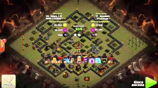 Strana guerra vs WAR LEGION – Clash of Clans