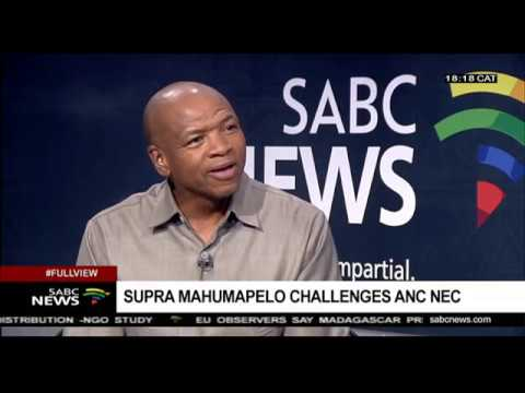 Mahumapelo on disbandment of ANC North West PEC and VBS