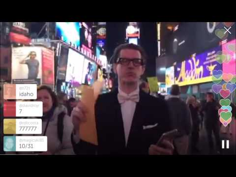 Times Square NYC Periscope Custom Made Suit Giveaway SUITCAFE