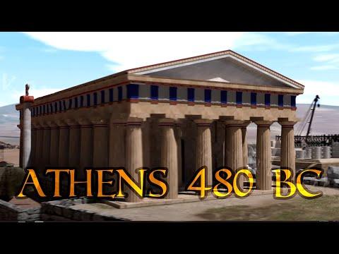 Αθήνα 480 π.Χ. - 3D αναπαράσταση