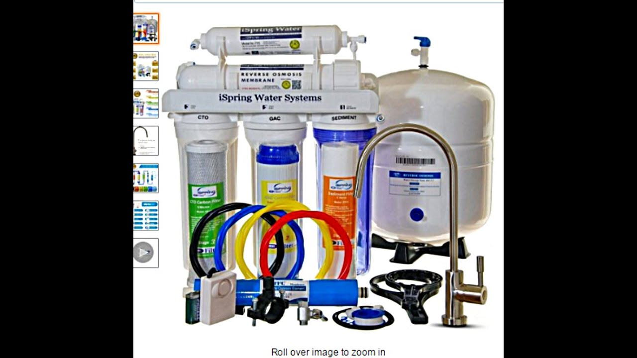An Ametures Install Of The Ispring Rcc7 Reverse Osmosis