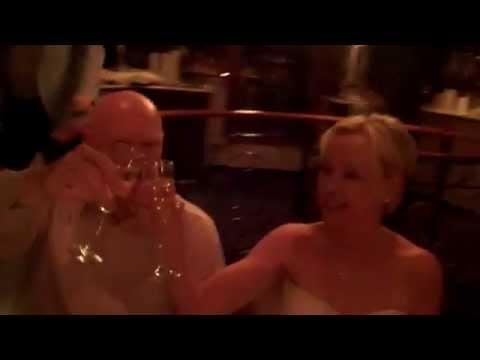 Lisa and Ray Rabbit's Wedding on Royal Princess: NY Boat Charter 888-755-2628