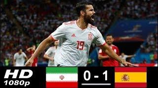 Iran vs Spain 0 - 1 FIFA World Cup 20/06/2018
