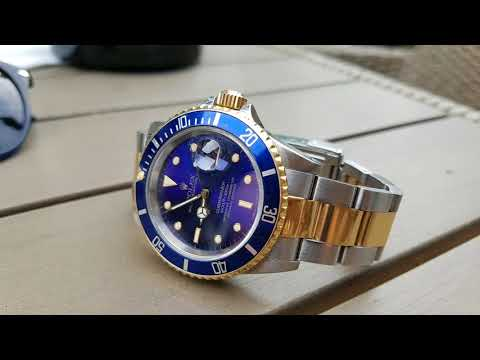 Rolex Submariner 16613 - Bluesy Review