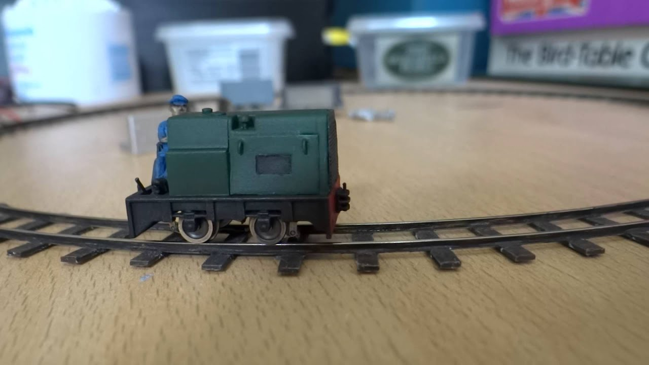3d printed oo9 locomotive slow running test youtube Making models for 3d printing