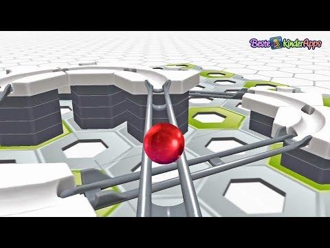 Gravitrax App: MITFAHRT auf der Kugelbahn 🎢 😀 Beste Kinder Apps Gratis