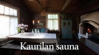 Kaurilan sauna - Lenkkisauna