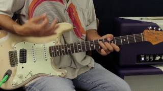 4 must know iconic Hendrix licks (Free Studio Quality backing track BONUS)