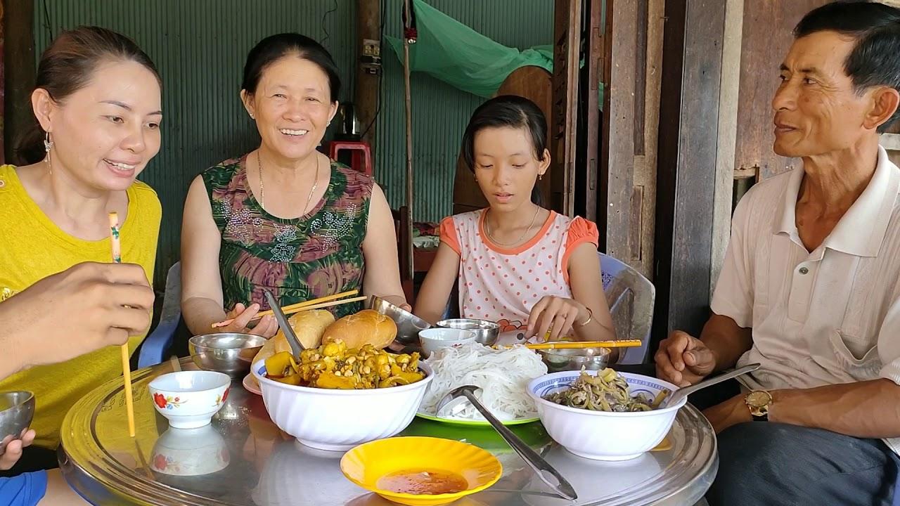 Ếch nấu cà ri nước cốt dừa ngon khó cưỡng