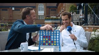 Can Andy Murray win a game of Connect 4?