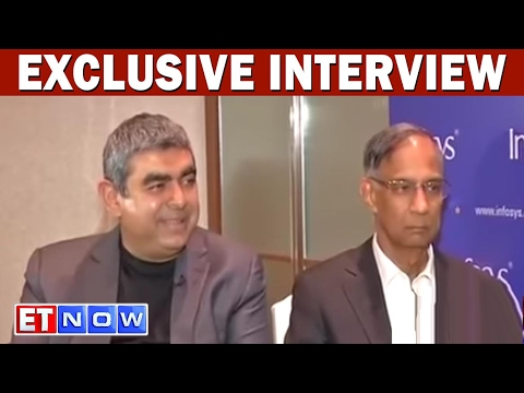 Vishal Sikka And R Seshasayee Speak On Infosys Boardroom Battle