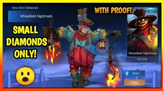 TIPS TO GET SKIN YOU WANT USING SMALL DIAMONDS WITH PROOF 😮    MOBILE LEGENDS BANG BANG
