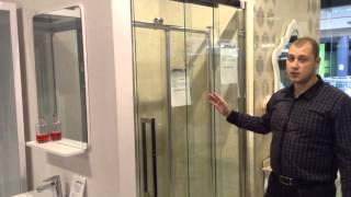 Душевая дверь Appollo TS-6905(www.appollo-info.ru Дверь в нишу 3х створчатая из закаленного безопасного прозрачного стекла толщиной 8мм, профиль..., 2014-08-29T12:24:31.000Z)