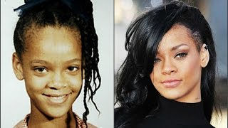 Рианна в детстве,в юности и сейчас