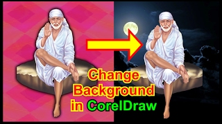 How to Remove Background in CorelDraw X8 Tutorials in Hindi