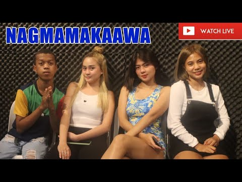 DJ MARIANO, KAT, ANGEL AND LEXI LOVE  RADIO NAG MAMAKAAWA SEPT 21