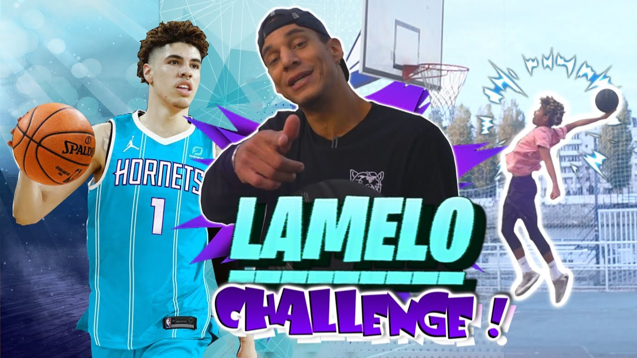 LAMELO BALL CHALLENGE !