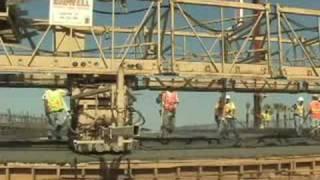 Caltrans 180 East Bridge Pour Sept 08