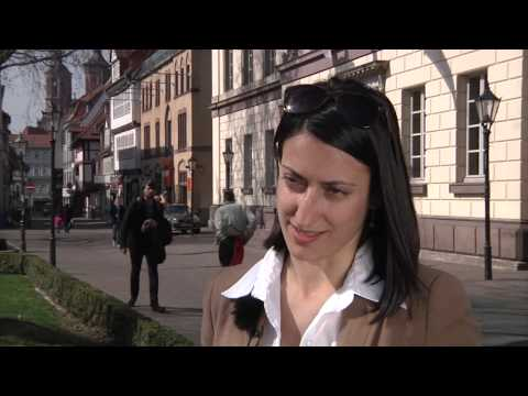 Studying at the University of Göttingen: Monica-Elena Stoian