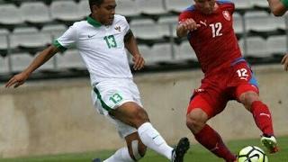 Babak pertama Indonesia U-19 vs Rep Ceska 0-1