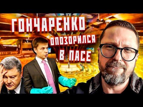 Очередное позорище от Гончаренко в ПАСЕ