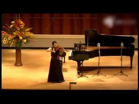辻彩奈さん Indianapolis 1st J  S  Bach