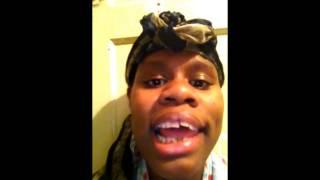 Shay Shay Barnes Sings Keyshia Cole Trust And Believe