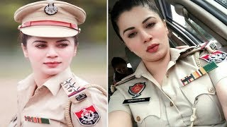भारत की सबसे खूबसूरत महिला पुलिस अफसर   Most beautiful Indian police officer