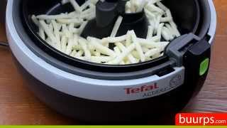 tefal actifry snacking demonstration