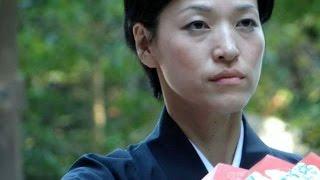 Yoko Layer Interview 慰霊祭奉納舞でのテレビ取材