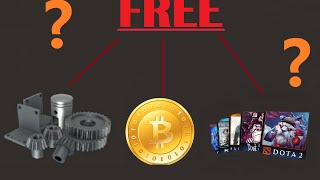 How to get Free Steam games / Cards / TF2 , Dota 2 and CS:GO items [Legal & no Download] *2015*