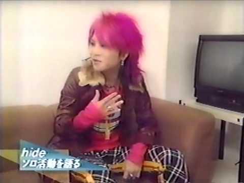 X JAPAN  hideによるYOSHIKIの物まね