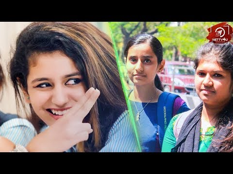 Priya Varrier, TN Girls - We Are Not Jealous | Lets Do The Responsibility
