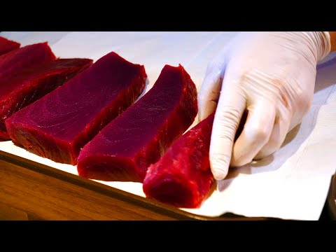 Tuna Cutting Sashimi – Korean food